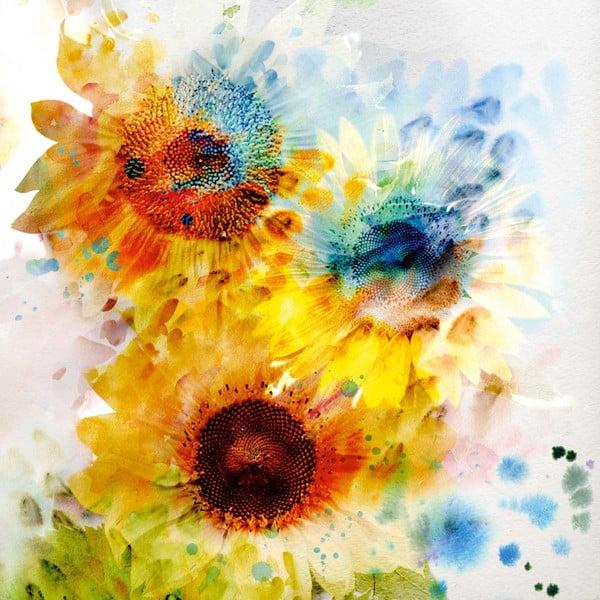 Obraz Flowers, 60 x 60 cm