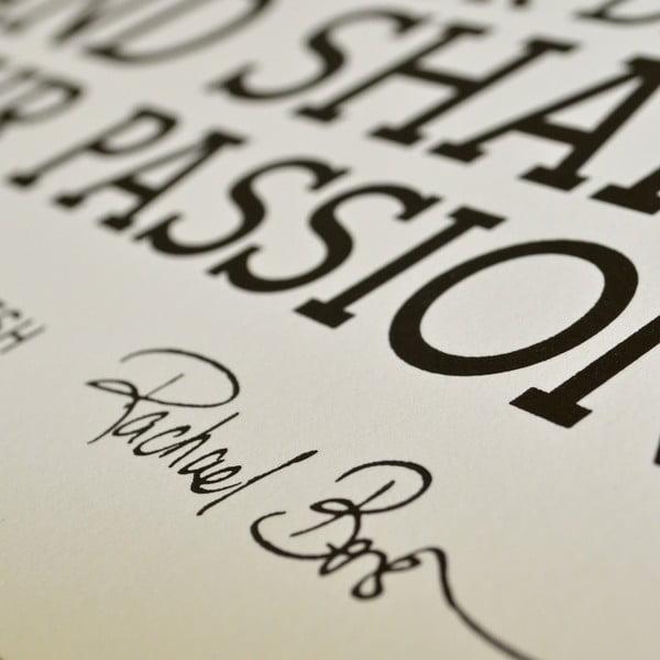 Plagát Manifesto, 46x61 cm