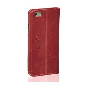 Hnedý kožený obal na iPhone 5/5S Packenger