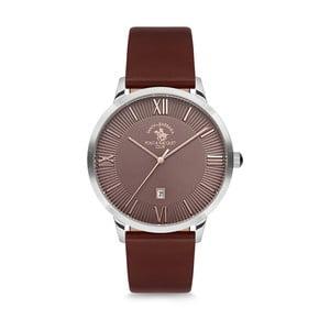 Pánske hodinky s koženým remienkom Santa Barbara Polo & Racquet Club Jarosh