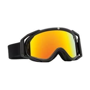 Dámske lyžiarske okuliare Electric RIG5 Gloss Black - Bronze Red, veľ. M