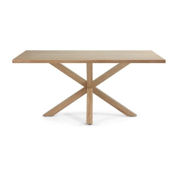 Jedálenský stôl Arya, 180x100cm, drevené nohy