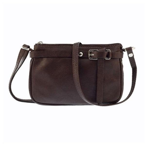 Kožená kabelka Markese 5161 Brown