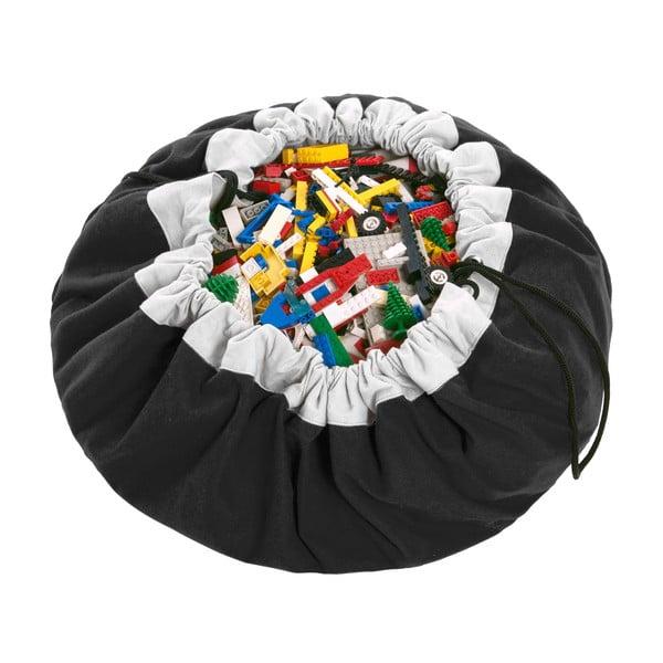 Podložka na hranie a vrece na hračky v jednom Play and Go Classic Black