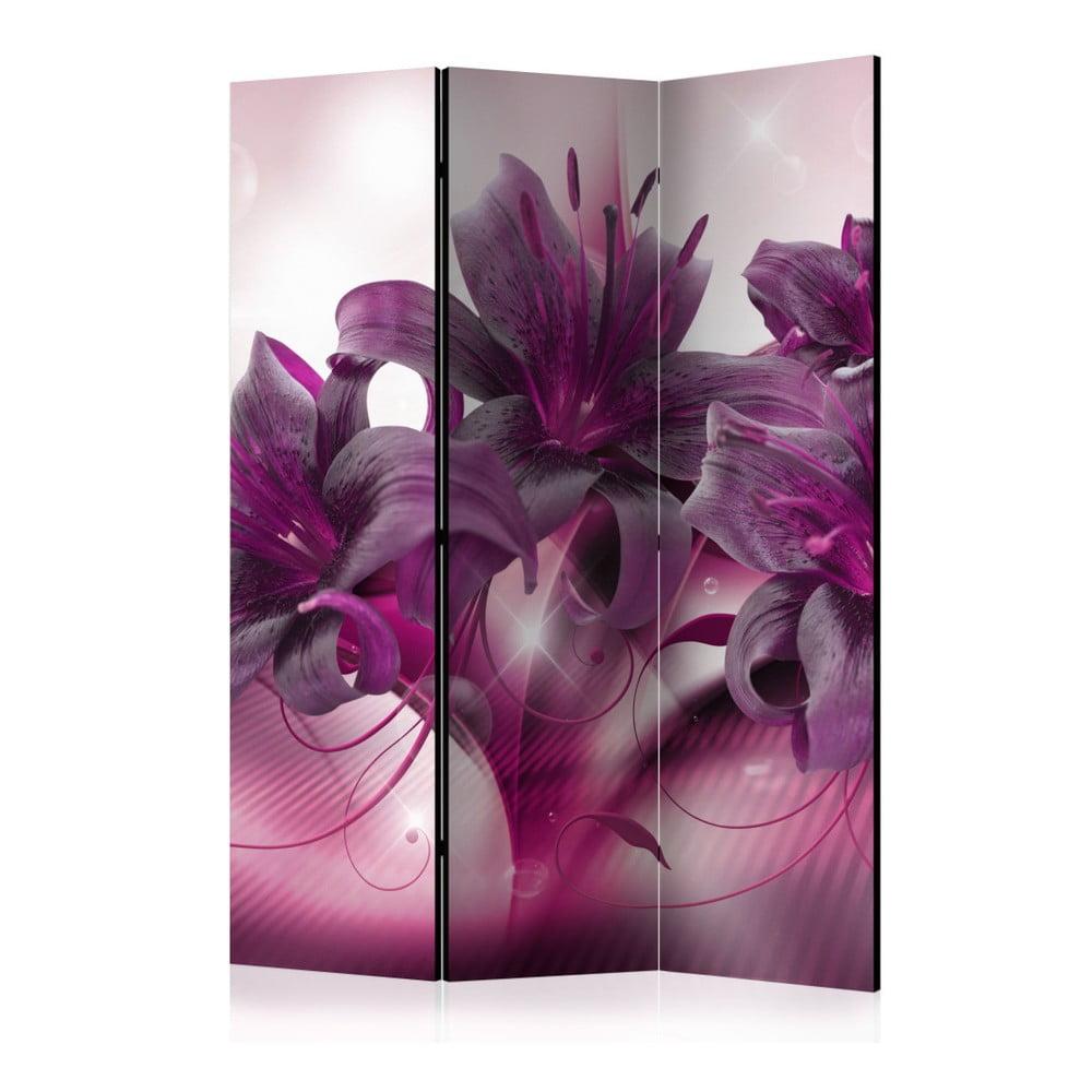 Paraván Artgeist Sweet Lily, 135 × 172 cm
