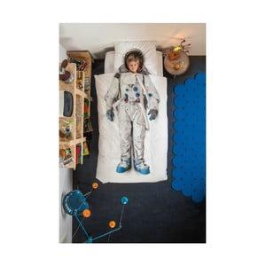 Bavlnené obliečky na jednolôžko Snurk Astronaut, 135×200 cm