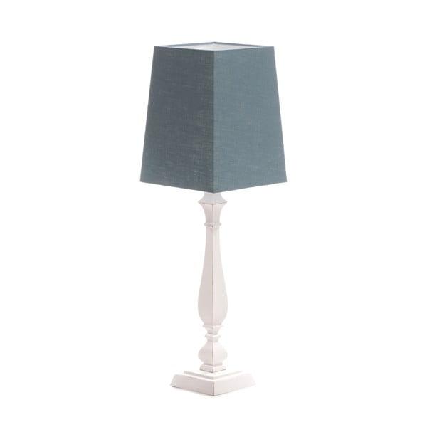 Stolná lampa Tower Light Blue/Washed White, 66 cm