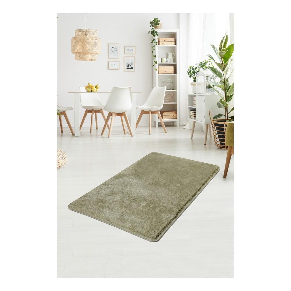 Zelený koberec Milano, 120 × 70 cm