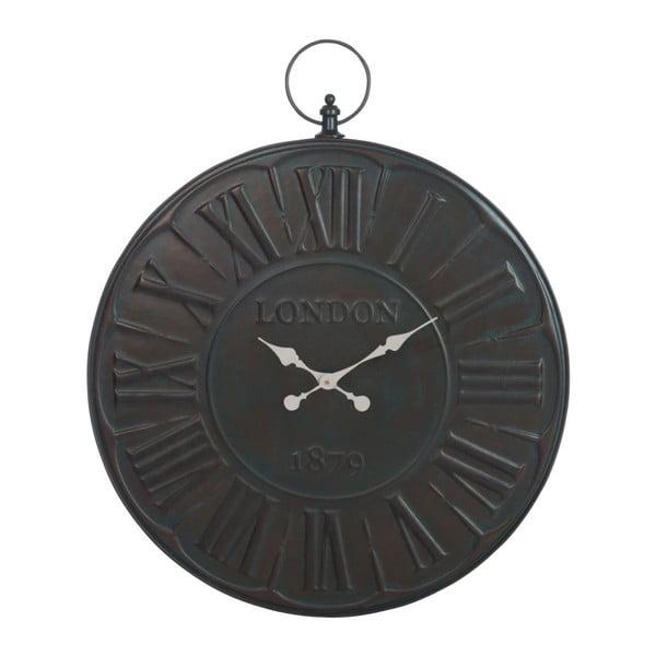 Hodiny Num London Black, 80 cm