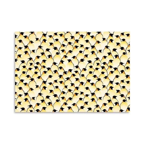 Plagát Penguins od Florenta Bodart, 30x42 cm