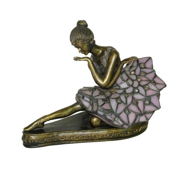 Tiffany stolová lampa Dame