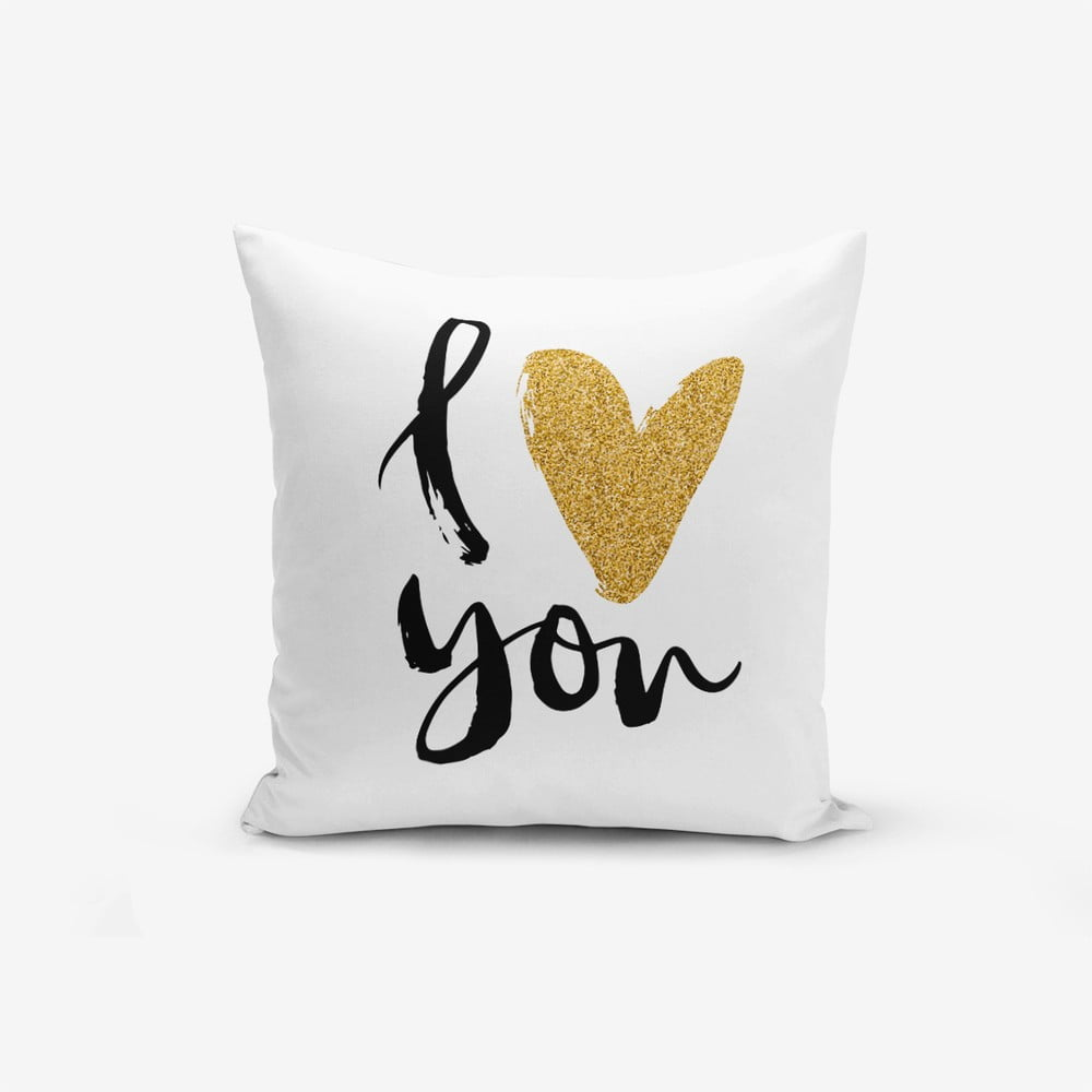 Obliečka na vankúš s prímesou bavlny Minimalist Cushion Covers, 45 × 45 cm