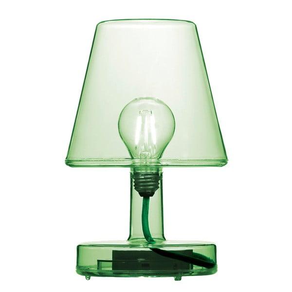Zelená stolová lampa Fatboy Transloetje