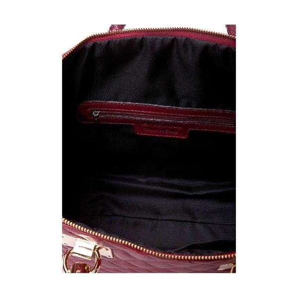 Kožená kabelka Giorgio Costa 15020 Red