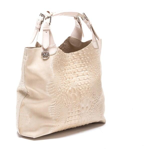 Kožená kabelka Italia 820 Beige