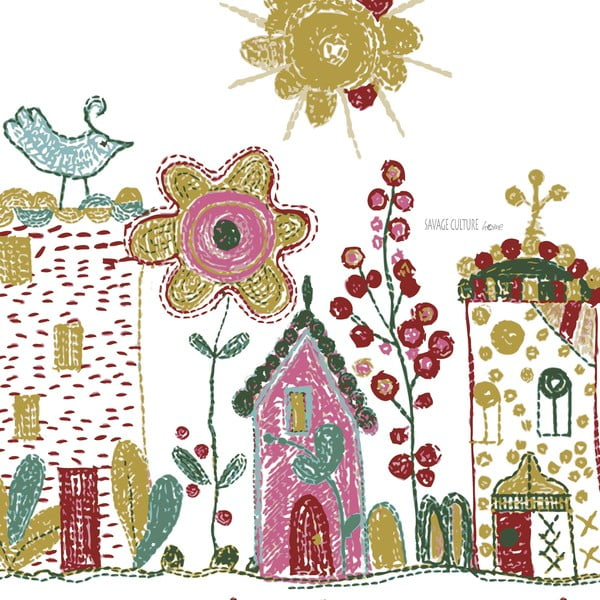 Obliečky Embroidery, 140x200 cm