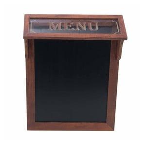 Tabuľa na písanie menu Menu