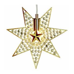Závesná svietiaca hviezda Gyling, 30 cm