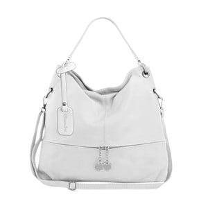 Biela kožená kabelka Maison Bag Evelyne