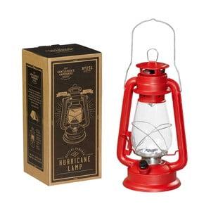 Červený lampáš Gentlemen's Hardware Hurrricane Lamp