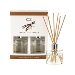 Sada 2 aromatických difuzérov Copenhagen Candles Madagascan Vanilla, 40 ml