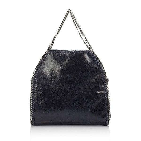 Kožená kabelka Markese 126 Blue