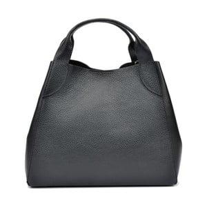 Čierna kožená kabelka Sofia Cardoni Mardon