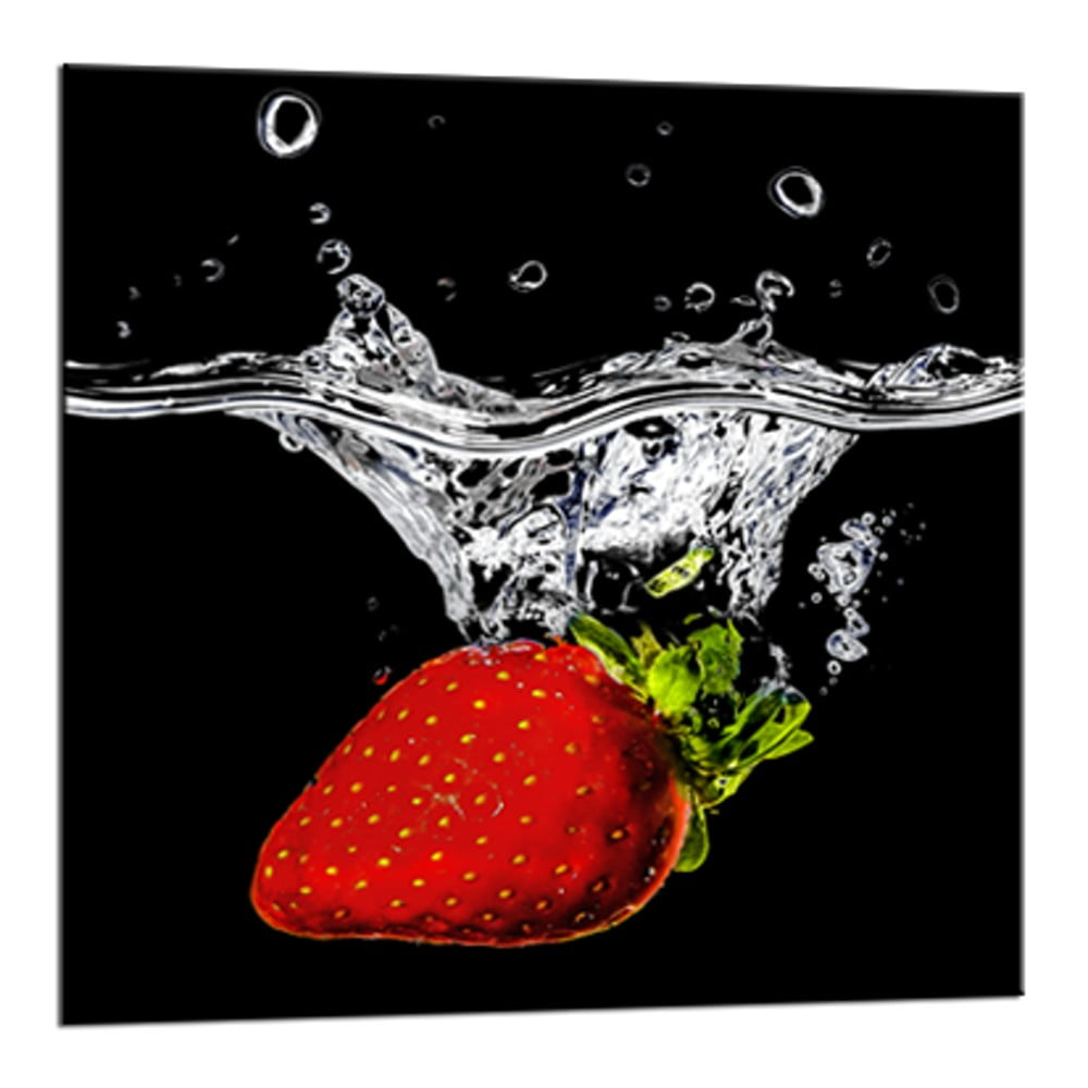 Obraz Styler Glasspik Red Fruits, 20 × 20 cm