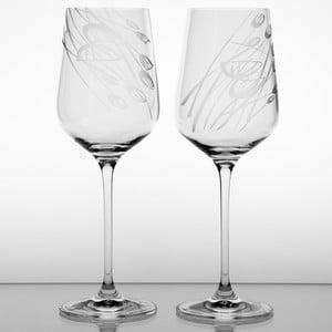 Ateliér Žampach, set 2 ks pohárov na červené víno Černucha
