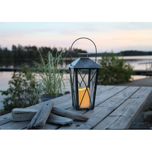 LED lampáš Nadia, pozinkovaný