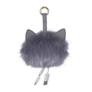 Sivý prívesok s USB redukciou Tri-Coastal Design