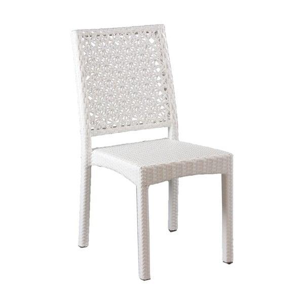 Stolička Toledo White, 90x42x56 cm