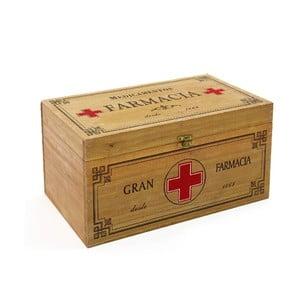 Krabička ako lekárnička Pine, 30x15 cm