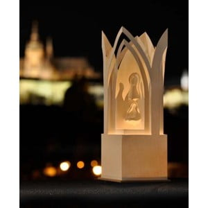 Svietnik Betlehem Praha, 31 cm