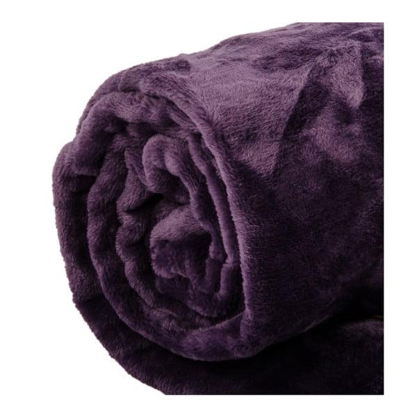 Pléd Toison Purple, 125x150 cm
