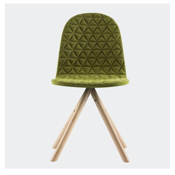 Stolička Mannequin, zelená