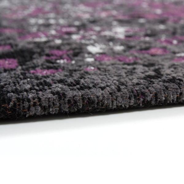 Sivo-fialový koberec Kayoom Violet Autumn, 120x170cm