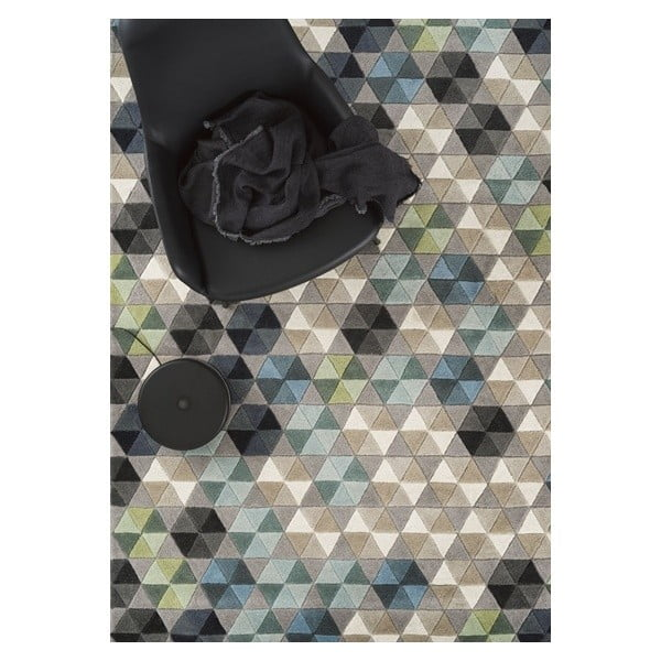 Vlnený koberec Linie Design Colmena, 170x240cm