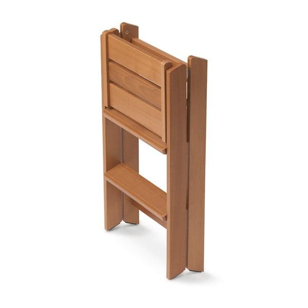 Skladacie schodíky z bukového dreva Arredamenti Italia Osimo