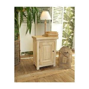 Drevený nočný stolík Orchidea Milano, výška 55 cm
