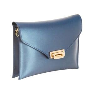 Modrá kabelka z pravej kože Andrea Cardone Shine