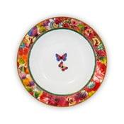 Porcelánový hlboký tanier Melli Mello Eliza, 21.5 cm