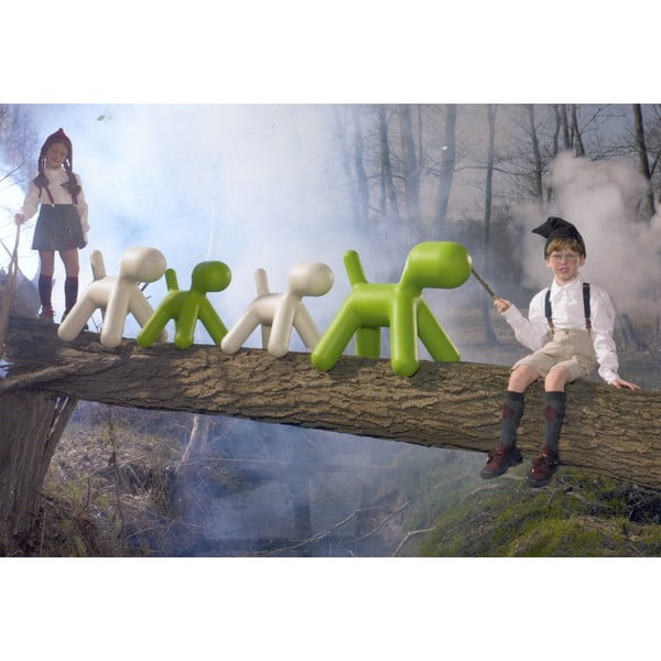 Zelená stolička Magis Puppy, dĺžka 43 cm