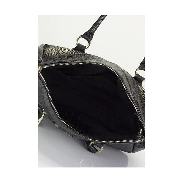 Kožená kabelka Giorgio Costa 15002 Black