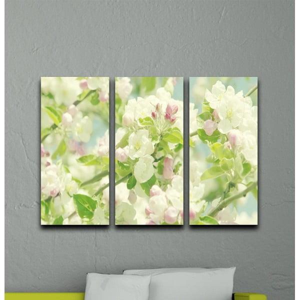 3-dielny obraz Všetko kvitne