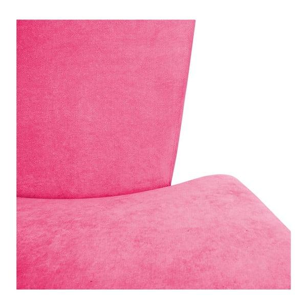 Kreslo Max Pink/Beech