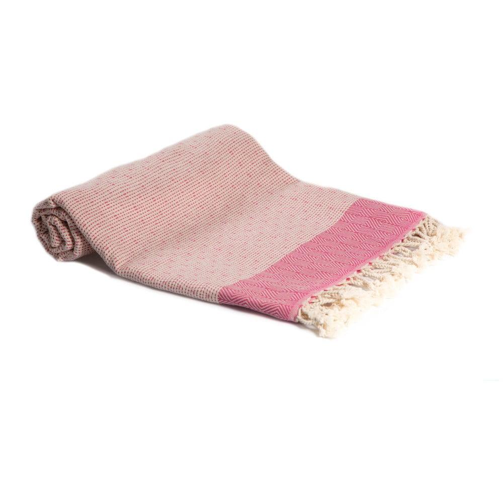 Hammam osuška z ručne tkanej bavlny ZFK Riborg, 180 x 100 cm