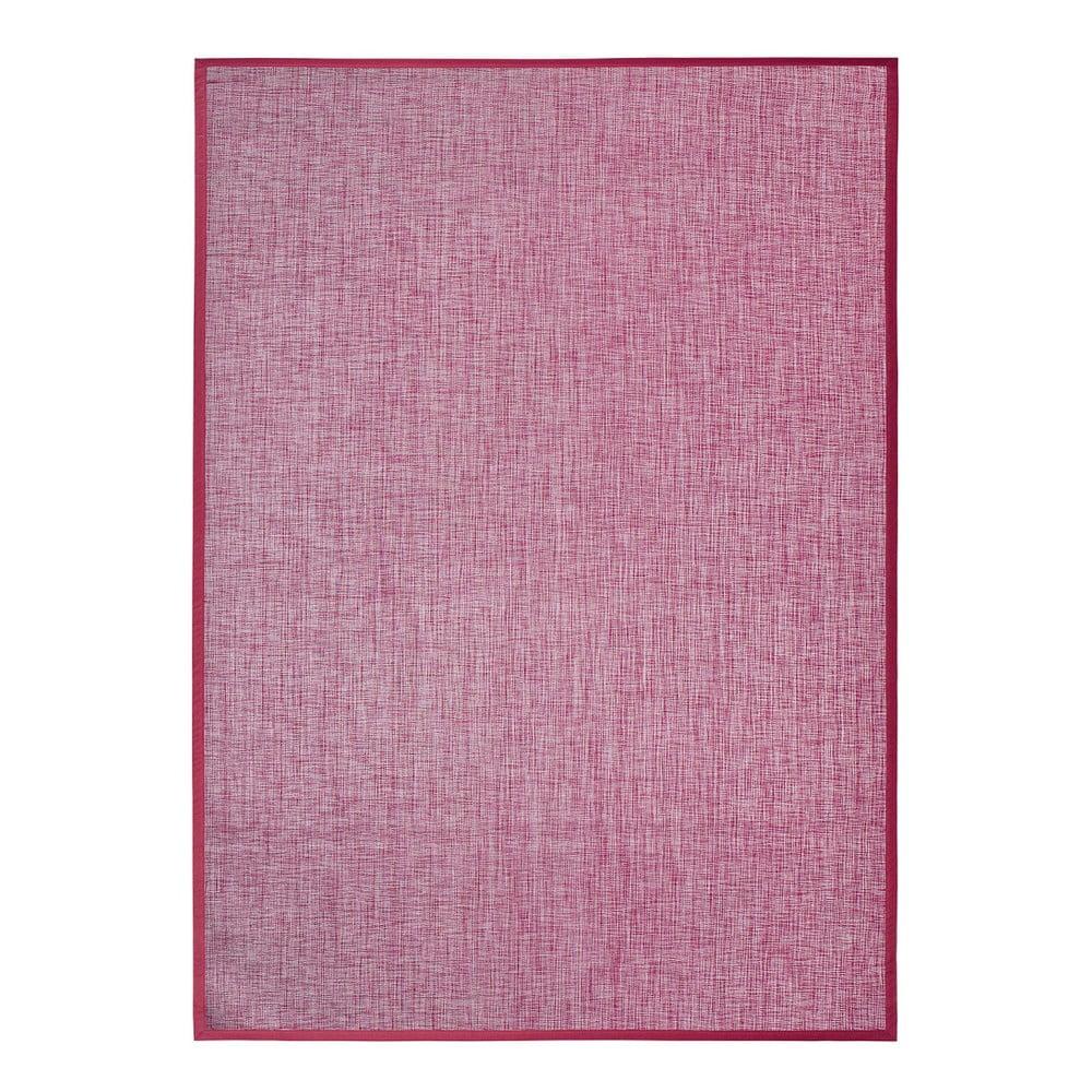 Fialový koberec MOMA Bios Liso, 140 × 200 cm