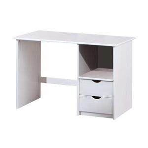 Biely drevený písací stôl 13Casa Work