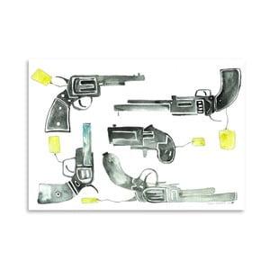 Plagát Pistols, 30x42 cm